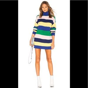 Lovers + friends tropical striped sweater